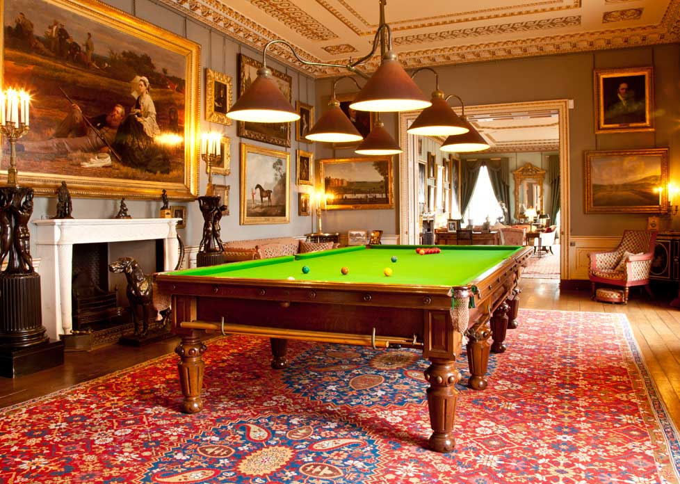 The Billiard Room Althorp Estate