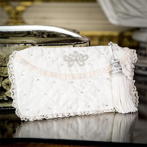 Ivory Evening Bag
