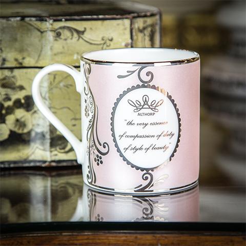 Fine English Bone China Rose Mug