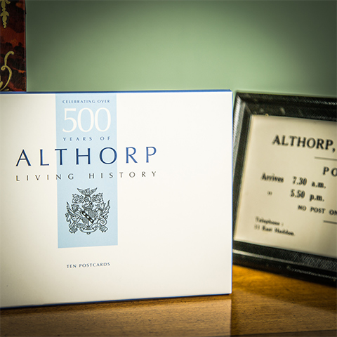 Althorp Postcard Pack