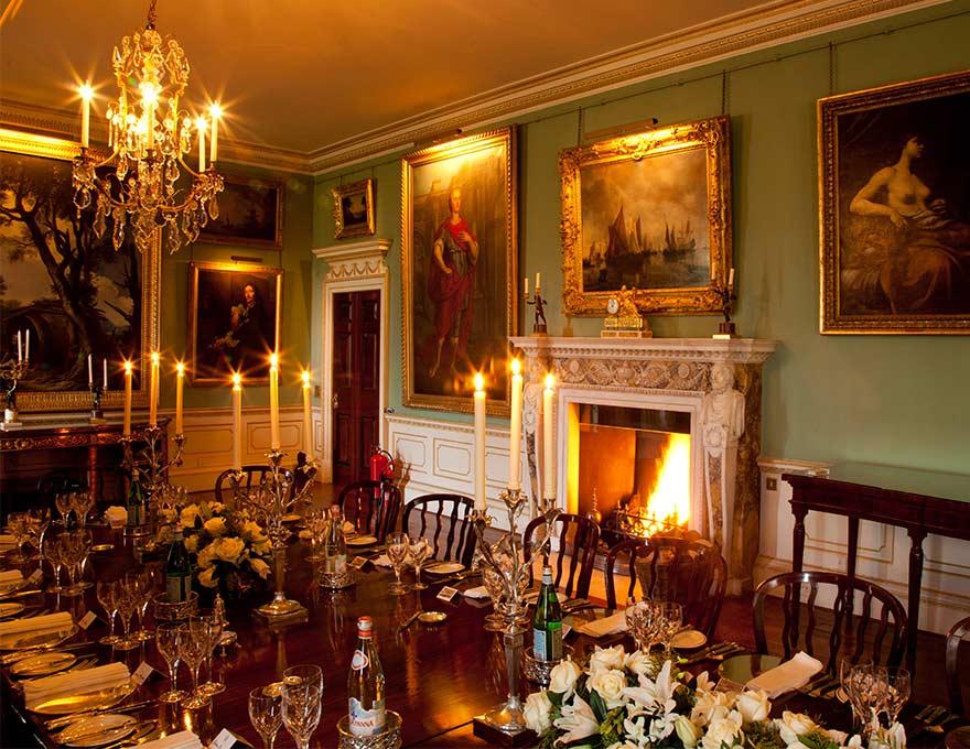 The Marlborough Room Althorp Estate