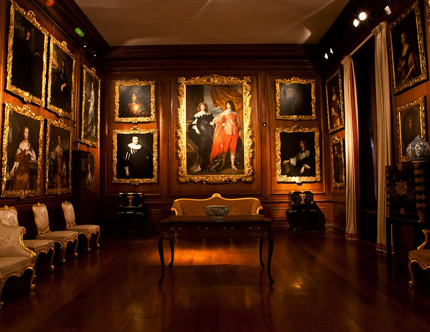 The Picture Gallery Althorp Estate