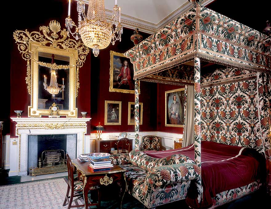 The Princess Of Wales Bedroom Althorp Estate