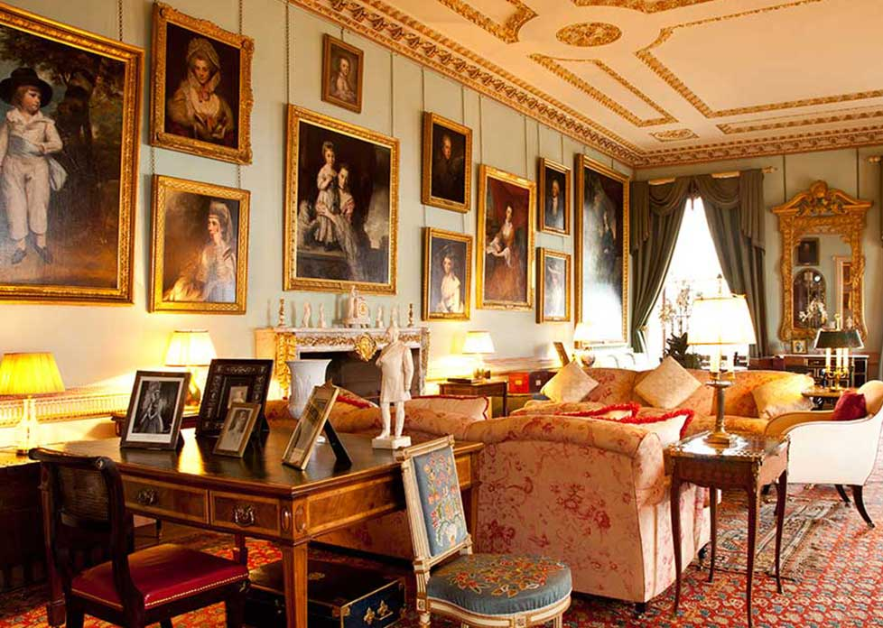 The south drawing room althorp estate for Kitchen design jobs scotland