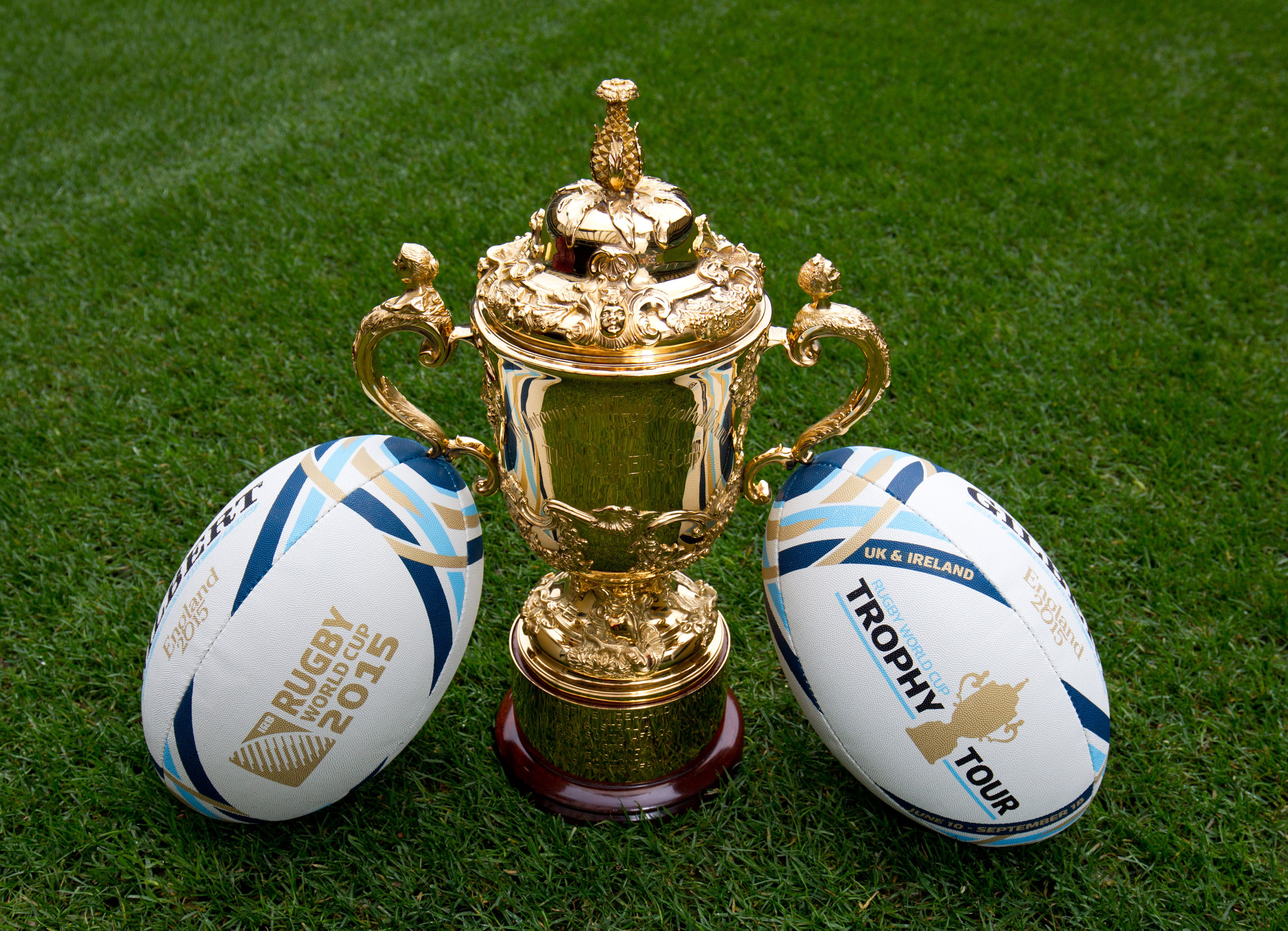 Rugby World Cup Trophy Visits Althorp