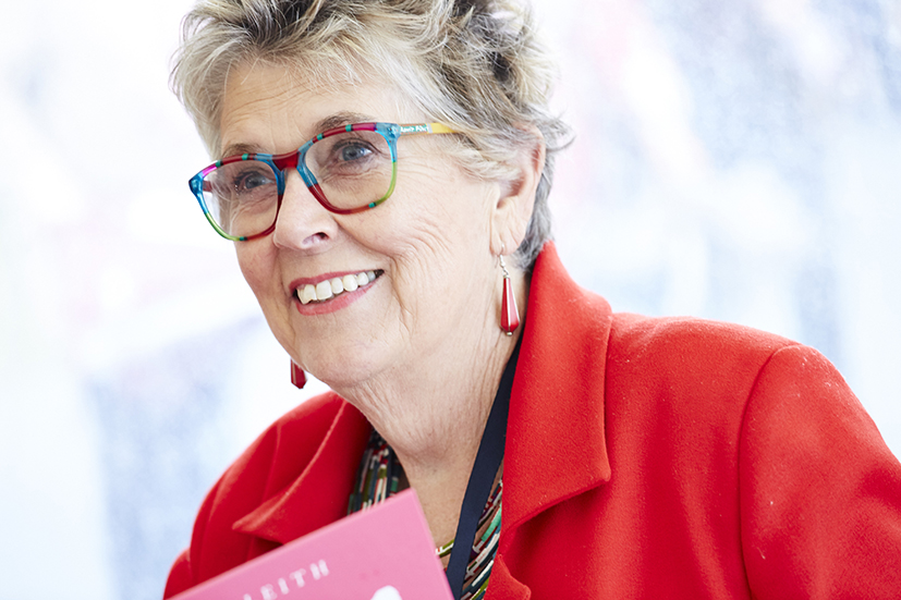 Prue Leith at Althorp