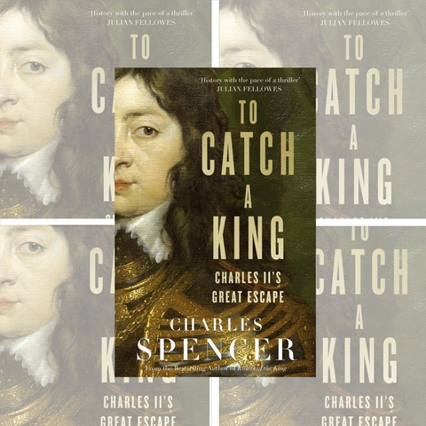 PRE-ORDER YOUR INDIVIDUAL AUTOGRAPHED AND DEDICATED COPY OF EARL SPENCER'S LATEST BOOK – 'TO CATCH A KING' – NOW!