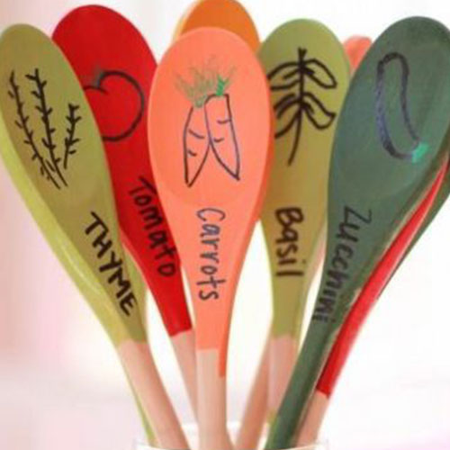Wooden Spoon Plant Marker Makers