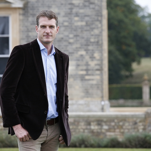 Dan Snow at Althorp