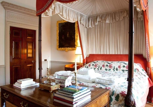 The India Silk Bedroom