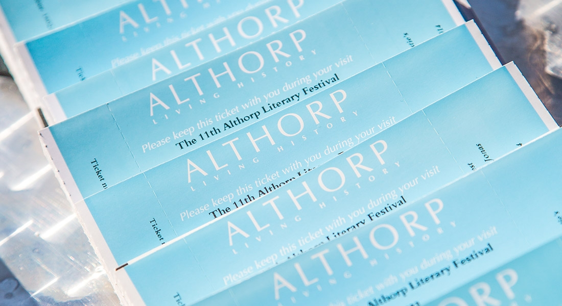 THE 11TH ALTHORP LITERARY FESTIVAL