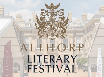 FANTASTIC LINE-UP DEVELOPING FOR 12TH ALTHORP LITERARY FESTIVAL
